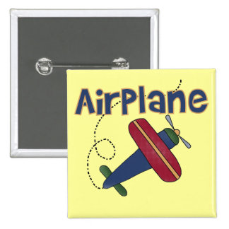 Airplane Tshirts and Gifts 15 Cm Square Badge