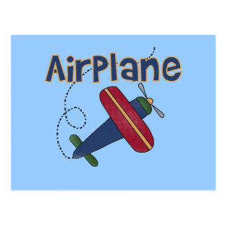 Airplane Tshirts and Gifts Postcards