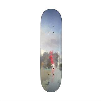 airplane wing skate deck