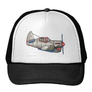 Airplane WW2 Fighter Plane Hats Mesh Hats