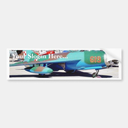 Airplanes Bumper Stickers