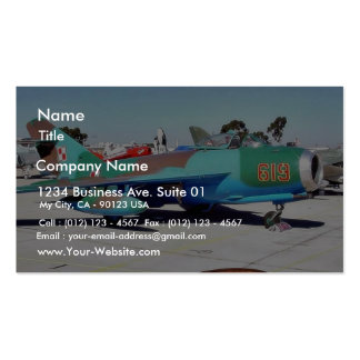 Airplanes Business Card Template