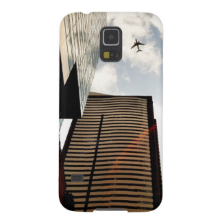 Airplanes flying over buildings galaxy s5 case