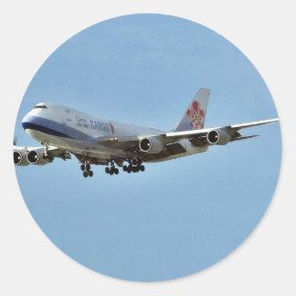 Airplanes Jets Round Sticker