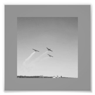 Airplanes Photographic Print