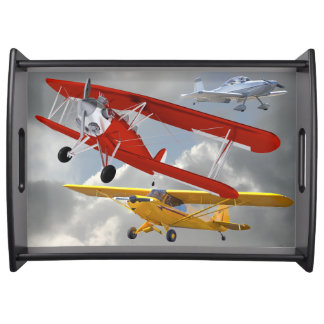 AIRPLANES SERVING TRAY