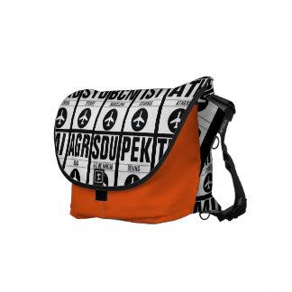 Airport Code Travel Bag Commuter Bag