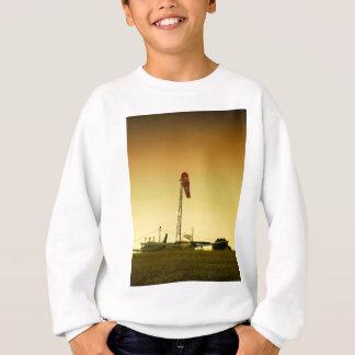 Airport sunset sweatshirt