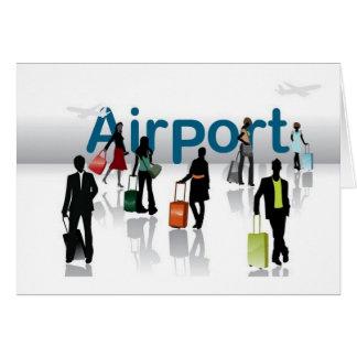 Airport terminal cards