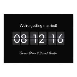 Airport Terminal Display Save the Date Cards 9 Cm X 13 Cm Invitation Card