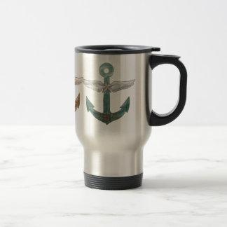Airship Anchor Stainless Steel Travel Mug