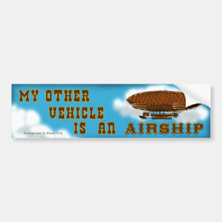 Airship Bumper Sticker
