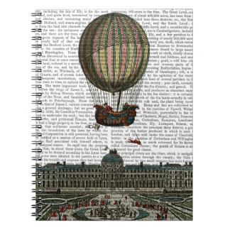 Airship Over City Notebooks