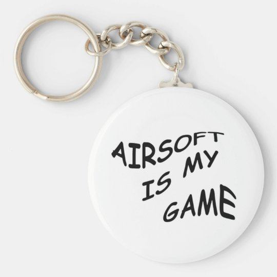 Airsoft is My Game Key Chain
