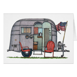 Airstream Greeting Card