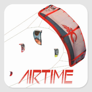 Airtime Square Sticker