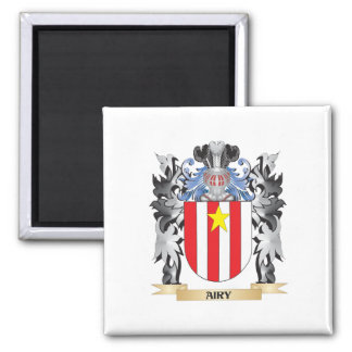 Airy Coat of Arms - Family Crest Square Magnet