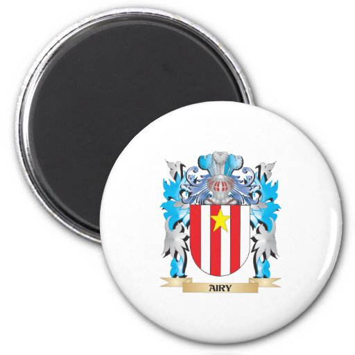 Airy Coat Of Arms Fridge Magnets