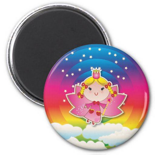 Airy Fairy Up In the Air Pink Magnet