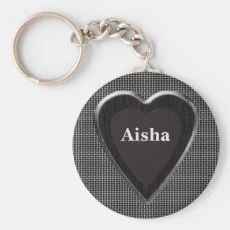 Aisha Stole My Heart Keychain by 369 My Name