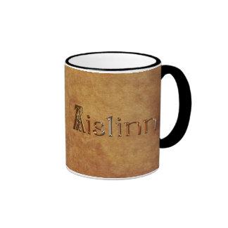 AISLINN Name-Branded Gift Drinking Mug
