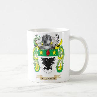 Aitchison Coat of Arms Family Crest Mug