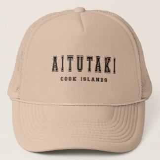 Aitutaki Cook Islands Trucker Hat