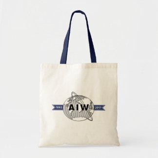 AIW 25th Anniversary Logo Budget Tote Bag
