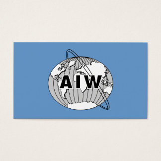 AIW Info Card to Give to Prospective Members