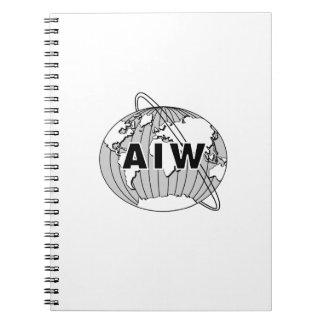 AIW Logo Notebook