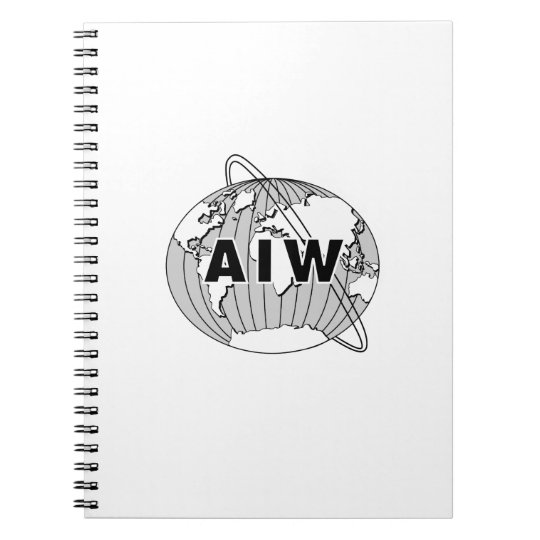 AIW Logo Notebook