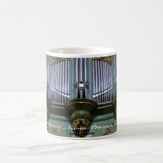 Aix-en-Provence organ mousepad Classic White Coffee Mug