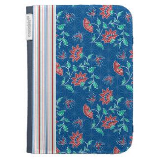 Aiyana Floral Batik 2 Kindle Folio Kindle Covers
