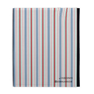 Aiyana Floral Batik Stripe iPad Folio iPad Folio Case