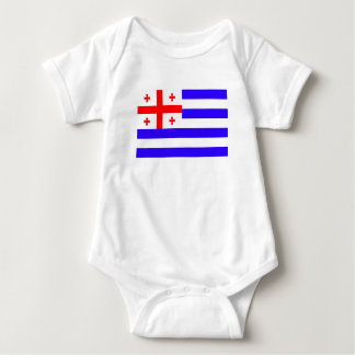 Ajaria Adjaria Adjara republic flag symbol georgia Baby Bodysuit