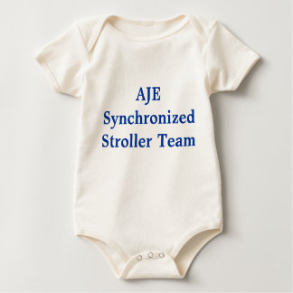 AJE Synchronized Stroller Team Baby Bodysuit