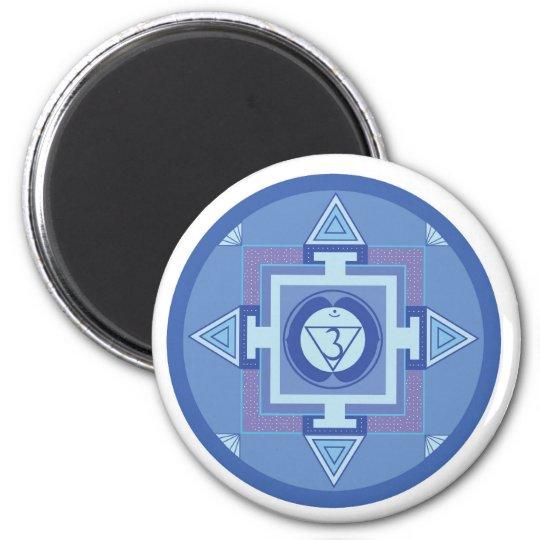 Ajna Chakra Mandala (Third eye chakra) Magnet