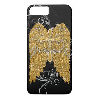 AJR-GS-3-angels-wings-BLK.jpg iPhone 8 Plus/7 Plus Case