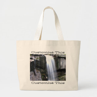 AJW Alaskan Jungle Waterfall Jumbo Tote Bag