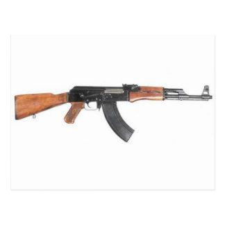 AK47 Assault rifle Postcard