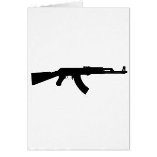 Ak47 Gun Card