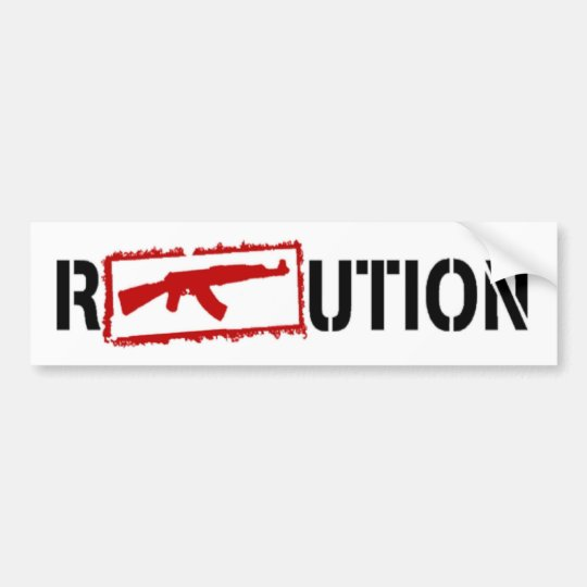 Ak47 REVOLUTION Bumper Sticker