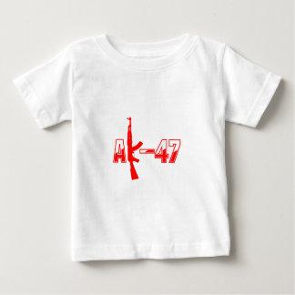 AK-47 AKM Assault Rifle Logo Red.png Baby T-Shirt