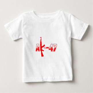 AK-47 AKM Assault Rifle Logo Red.png T Shirt