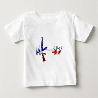 AK-47 AKM Assault Rifle Logo Red White And Blue.pn Tee Shirt