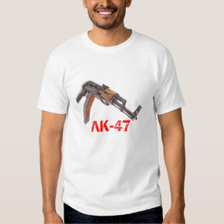 AK-47 assault rifle tshirt
