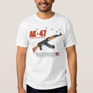 AK-47 Avtomat Kalashnikova Tee Shirts