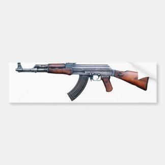 AK-47 History Avtomat Kalashnikova Assault Rifles Car Bumper Sticker