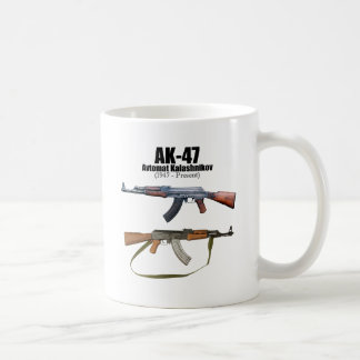 AK-47 History Avtomat Kalashnikova Assault Rifles Mug