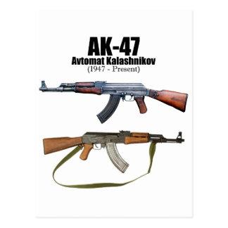 AK-47 History Avtomat Kalashnikova Assault Rifles Postcard